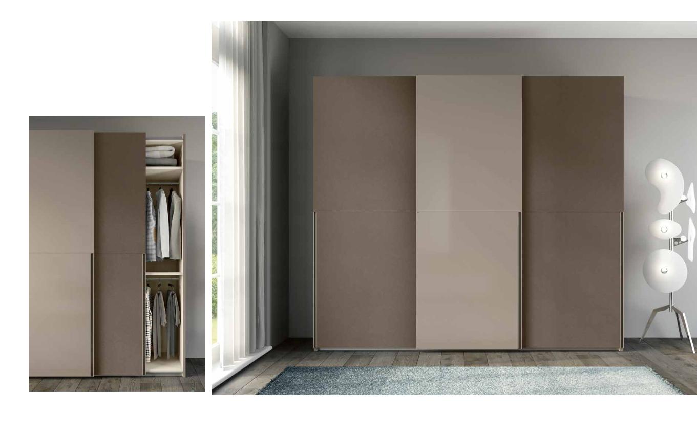 Porta Scorrevole 3 Ante Sovrapposte.Armadi Moderni A Torino