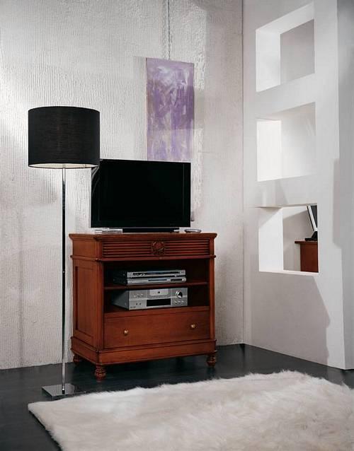 porta tv in arte povera a torino